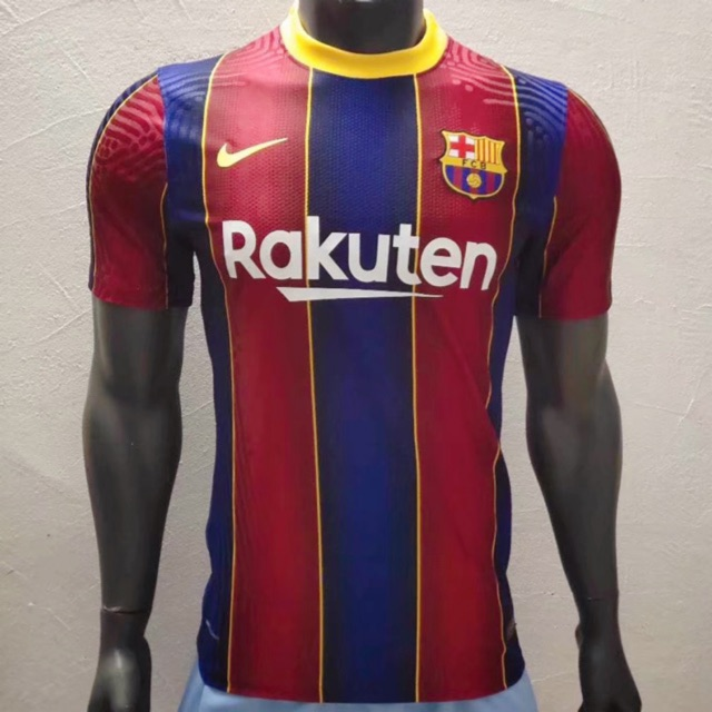 20 21 Fc Barcelona Player Issue Kits Shopee Malaysia