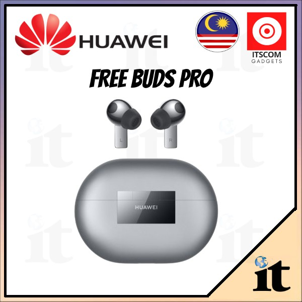 Huawei FreeBuds Pro with Noise Cancelling, 1 Year Warranty by Huawei Malaysia
