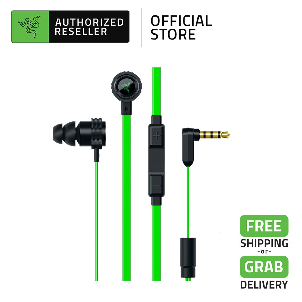 Razer Hammerhead Pro V2 In Ear Gaming Headphones Earbud with Mic & In-line Remote Audio Jack (3.5mm)