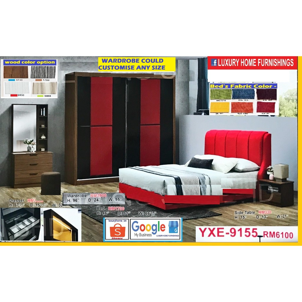 BED ROOM SET, 8'X8' FULL SET, EXCLUSIVE LAUNCHING SALE, BIG SAVE PROMOTIONS