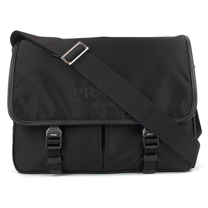 0fcadd4bb184 Prada Men's Messenger Bag - Black 2VD768 064 F0002 V OOO   Shopee Malaysia