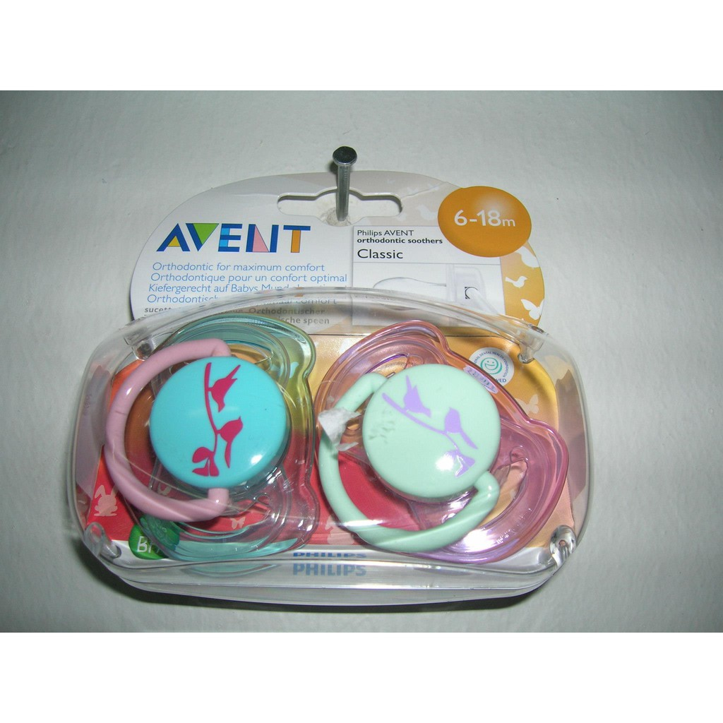 Philips Avent Fashion Soother 6 18 Months 2pcs Pack Shopee Single Freeflow 0 6m White Malaysia
