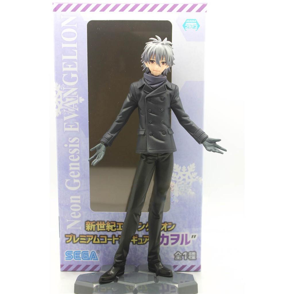Anime EVA Evangelion 2pcs set Rei Ayanami Asuka Original SEGA FIGURES Toy Gift