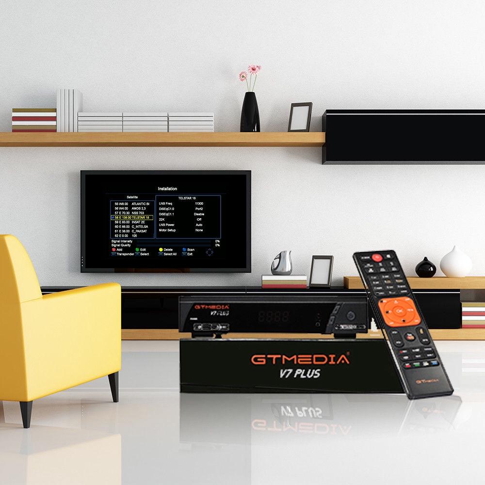 GTMEDIA V7 PLUS New H265 DVB-S V7 PLUS Upgraded Version DVB-S2+T2