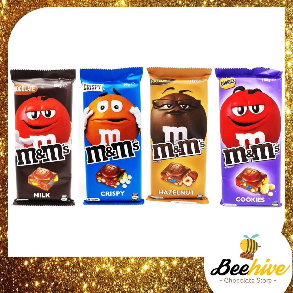 M M Chocolate Bar 150g 155g 160g Shopee Malaysia