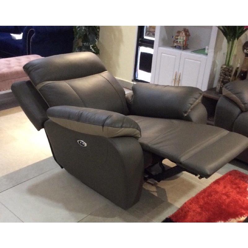 N 9500 1R  (MANUAL) + 3 Seater, Genuine Cow Leather, H/L, Sofa Set, RM 3,989 nett!!