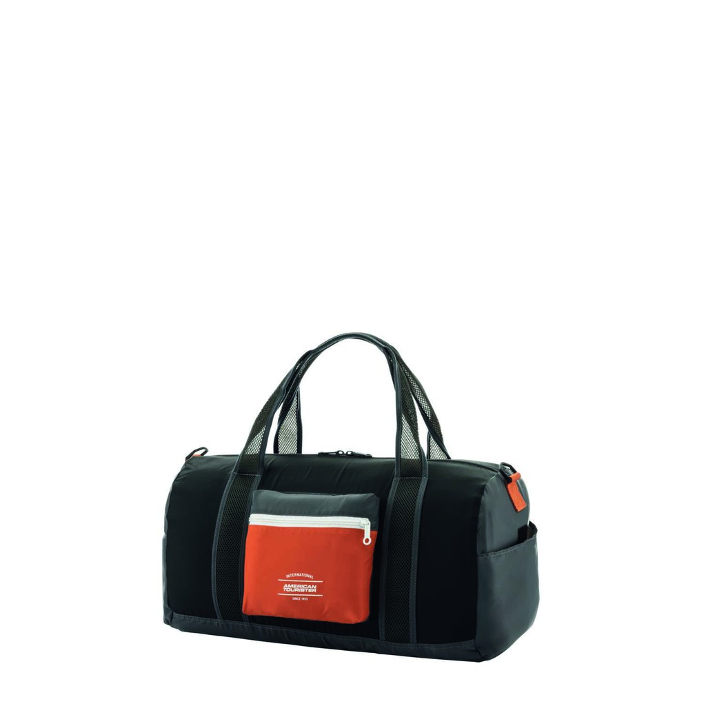 American Tourister AT ACCESSORIES PACKABLE DUFFLE BURNT OR.