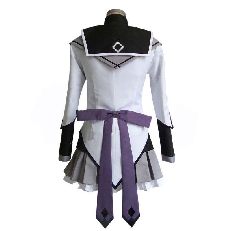 Puella Magi Madoka Magica Akemi Homura School Uniform Cosplay Costume Suit