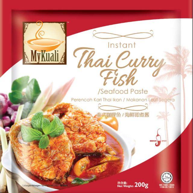 MyKuali Thai Curry Fish Paste 200g