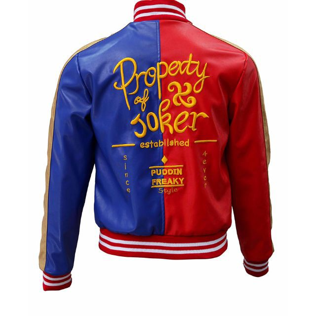 4dd8685cb279 PO suicide squad jacket harley quinn cosplay costume