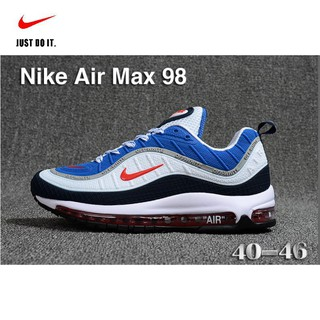 size 40 bcf3b ef80b *lbjames* Nike Air Max 98 Men'S Retro 4 Colors Cushion Sport Original  Sports Shoes Ready Stock