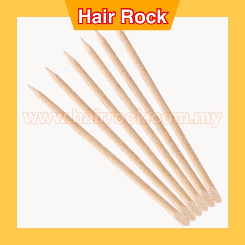 3packs Wood Sticks Tools for Nail Art Wooden Cuticle Pusher Remover 12s/pkt
