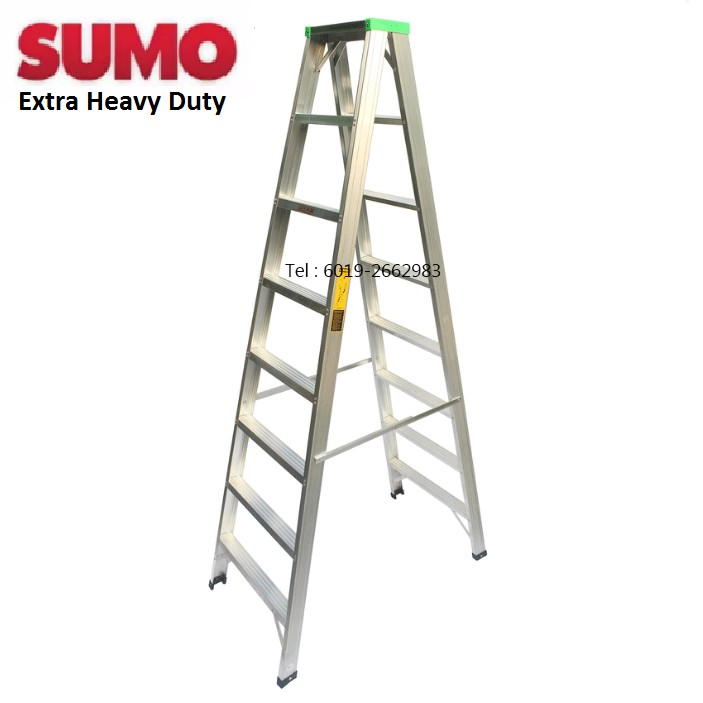 Sumo Ds8 Heavy Duty 8 Steps 80 Quot Double Sided Ladder