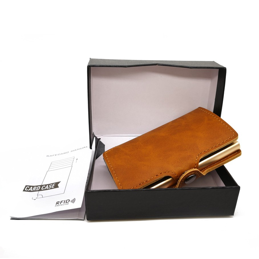 low priced 0adf1 95ea3 Casekey Business Men Credit Card Holder RFID Card Cases Automatical Pop Up  Alumi