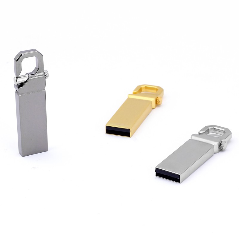 Waterproof USB 2.0 Gold Metal 16GB 8GB Mini Flash Drive Memory Storage 4GB lot