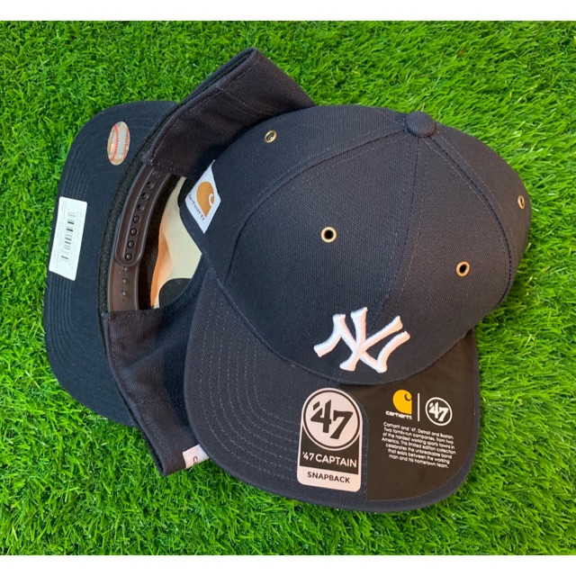 f14cbbf2 47 Captain x Carhartt x NY Yankees. Kolaborasi 47 Brand, Carhartt dan MLB.  Limited Edition