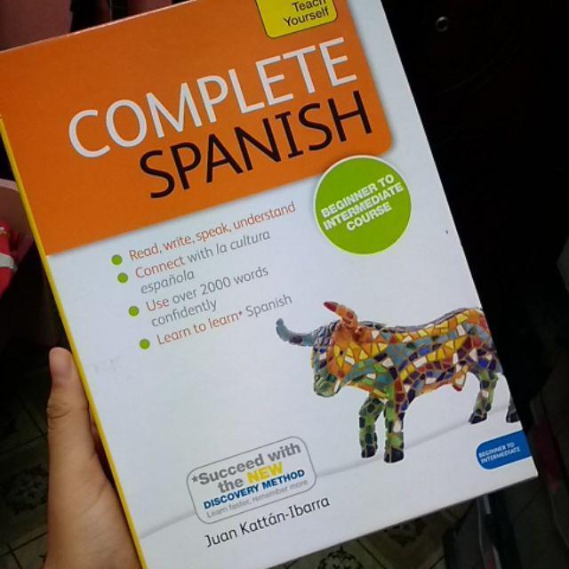 COMPLETE SPANISH @Teach Yourself | Shopee Malaysia