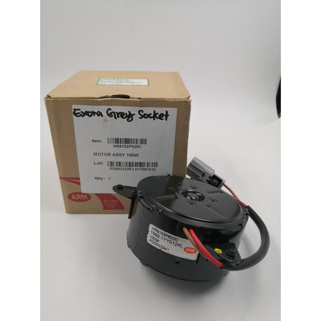 MORDAPEXO100WO-PROTON EXORA APM CONDENSOR FAN MOTOR ( ORG ) ( 100W ) HR8102P620C ( BROWN-RED ) GREY SOCKET