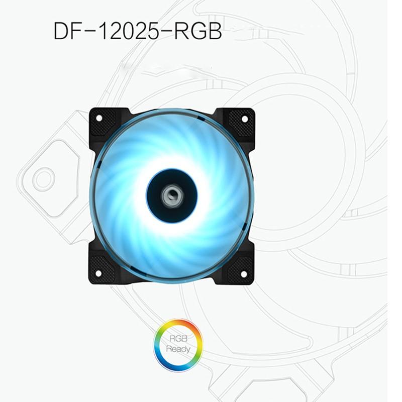 Original Delta WFB1212HH 12025 12cm 12V 0.68A 120 120 25MM high volume double ball cooling fan