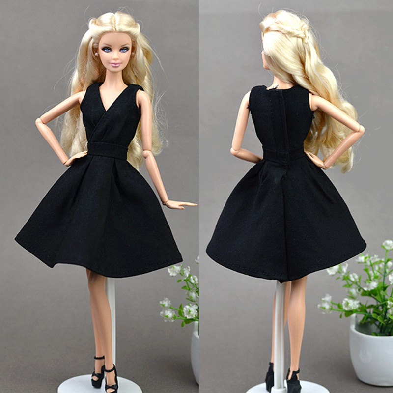 """6pcs//lot Floral Doll Dress Clothes For 11.5/"""" Doll Dress 1//6 Party Dresses Toy"""