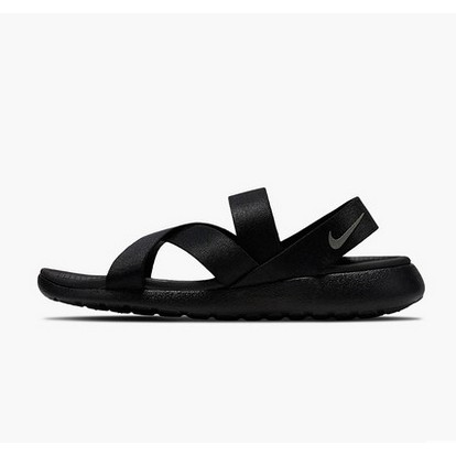 more photos a94b5 dadc2 Nike Roshe One Sandal Black