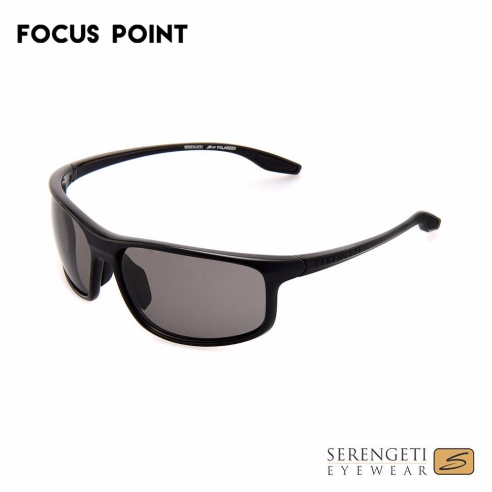 2cc2750ce9 Serengeti Levanzo 8611 Polarized Sunglasses - Black Light Grey ...