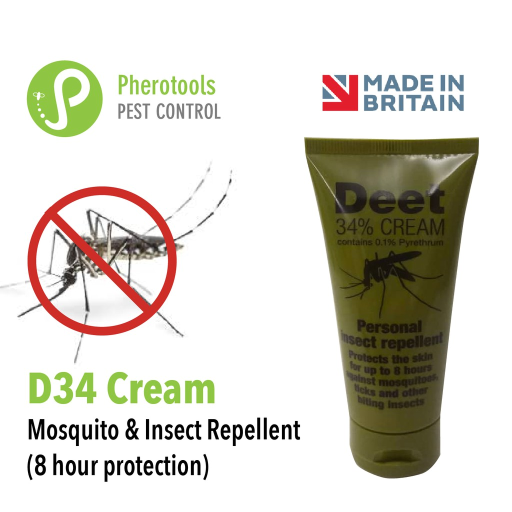 Military Insect Mosquito Repellent 8 hours protection - camping, hiking, fishing