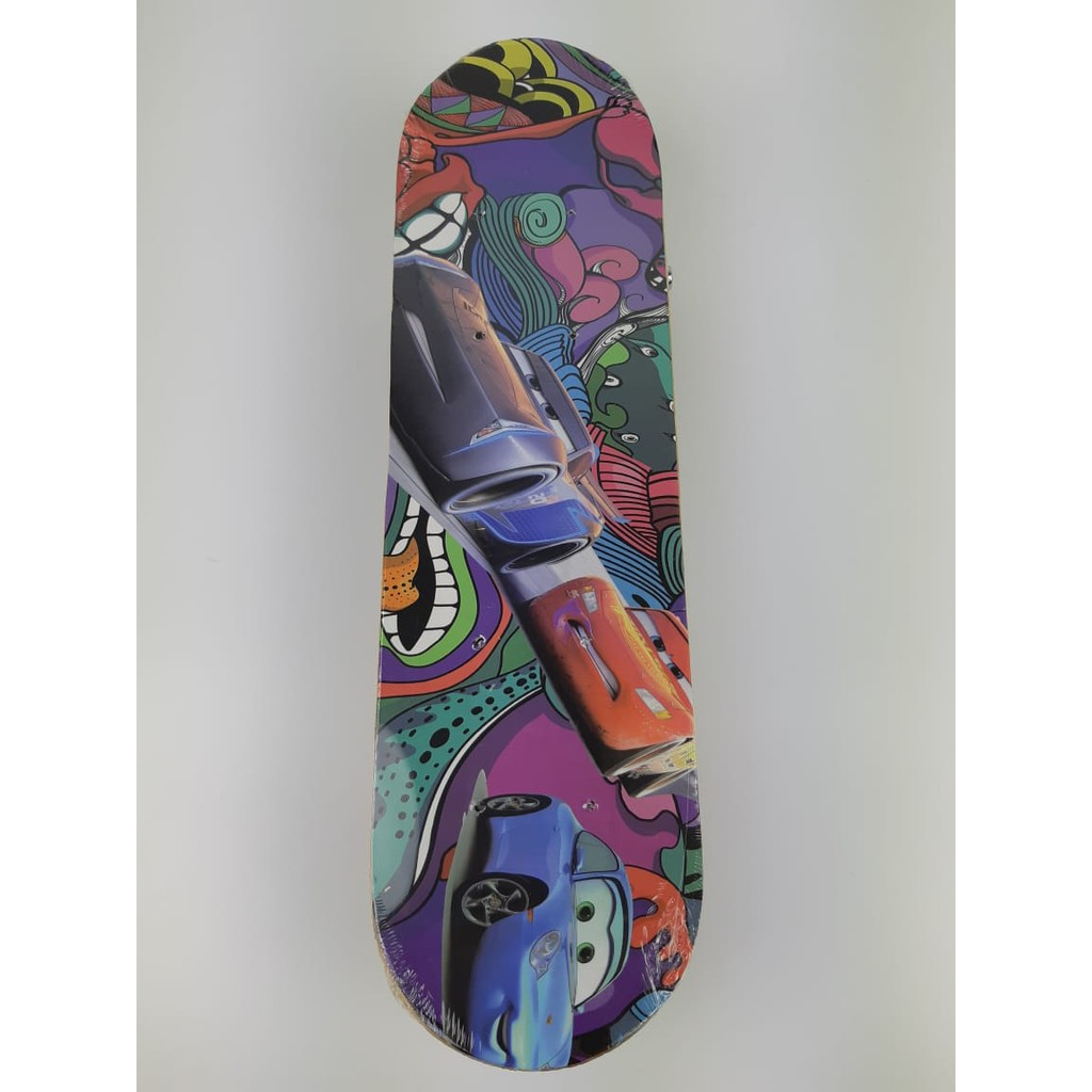 42CM Spiderman Little Pentium Four-Wheeled Long Skateboard for Kids and Adult Scooters.SKATE