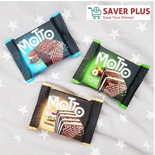 MY MOTTO WAFER 20 Packs x 34g