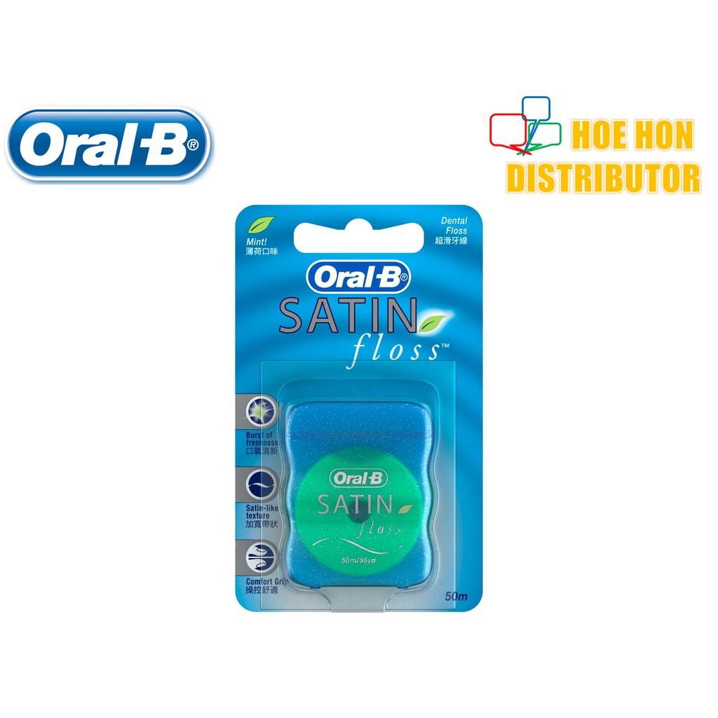 Oral-B Satin Floss Dental Floss 50m 90770977