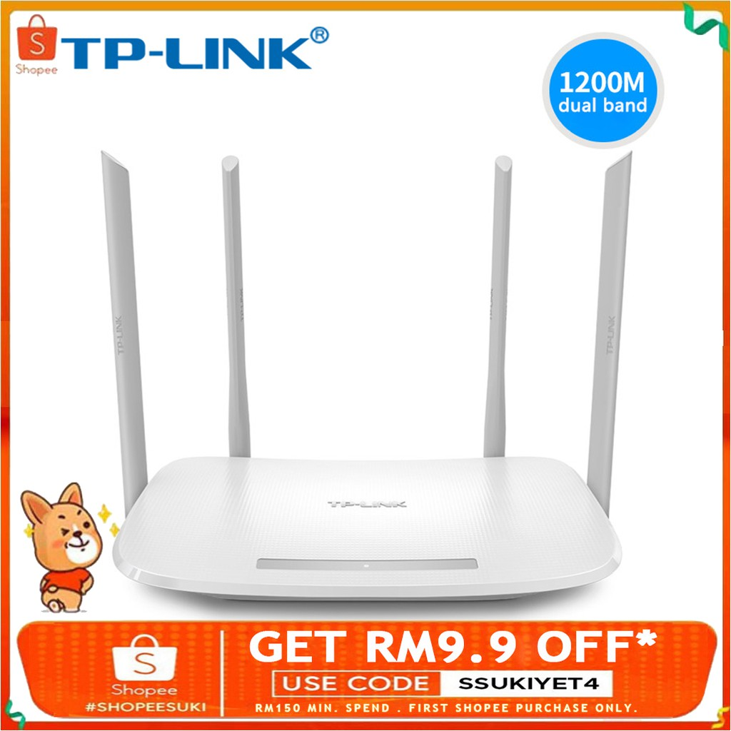 TP-Link Wifi Router AC1200 Dual-Band 2 4G 5 0G Wireless router Wifi repeater