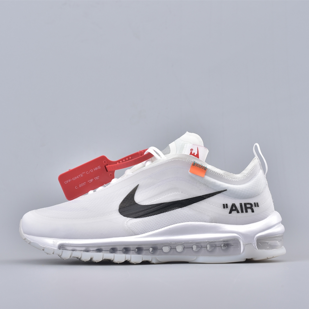 first rate a785b 13d9e Nike Air Max 97 Off-White White The Ten Sport Shoes