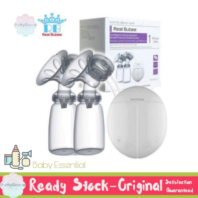 REAL BUBEE DOUBLE ELECTRIC BREAST PUMP CB