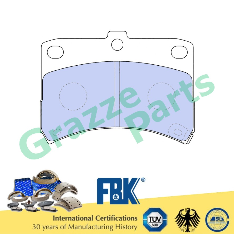 FBK Disc Brake Pad Front for FD0034MS - Perodua Kelisa Kenari