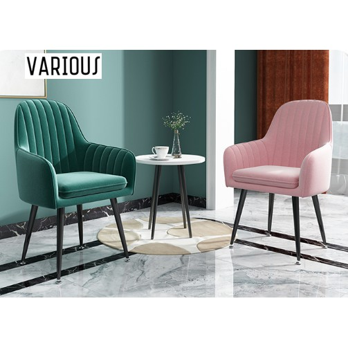 🔥(READY STOCK) 2020 Nordic Ins Minimalistic Modern Home Dining Make Up💄Chair Luxury Simple Make-up Stool🔥