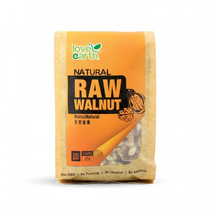 Love Earth Natural Raw Walnut 300g 乐儿天然核桃 (生) 300公克 (袋装)