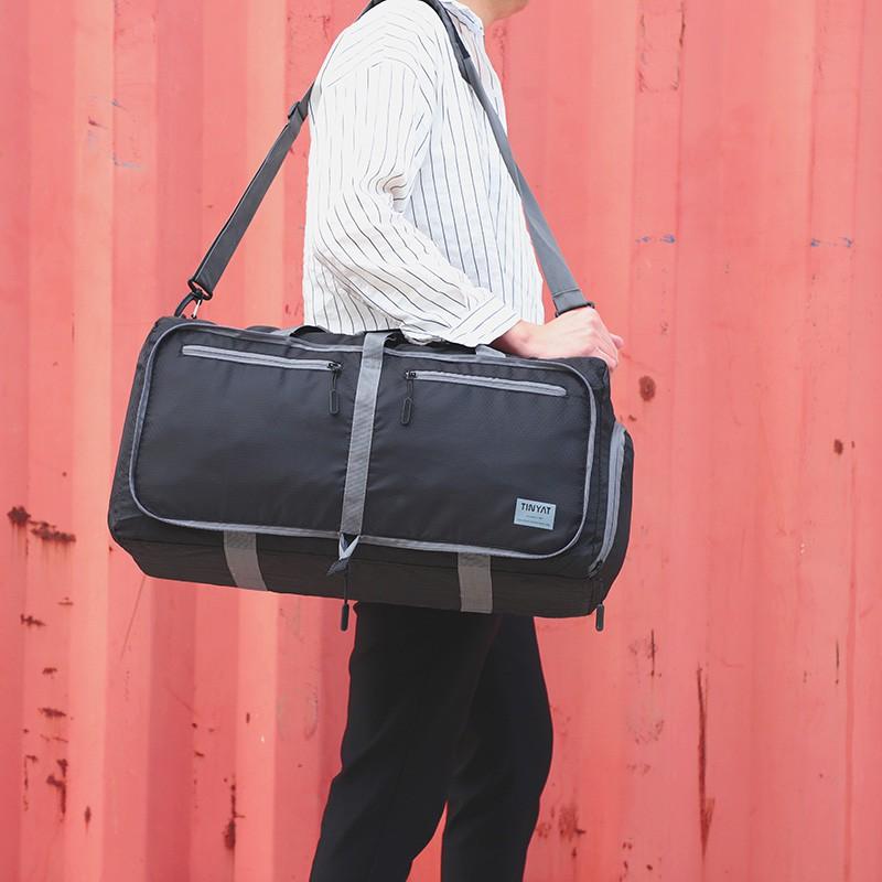 Travel Luggage Duffle Bag Lightweight Portable Handbag Football Print Large Capacity Waterproof Foldable Storage Tote