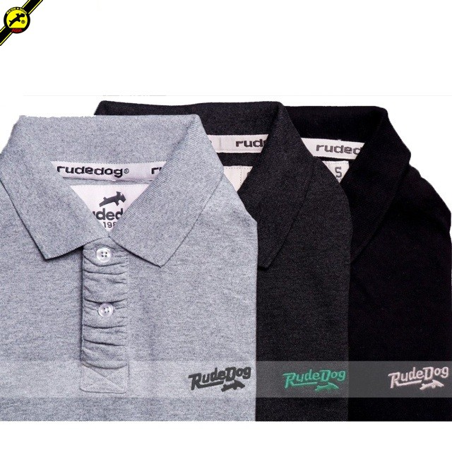 rudedog Polo เสื้อโปโล รุ่น Liner รวมสี (LIMITED EDI