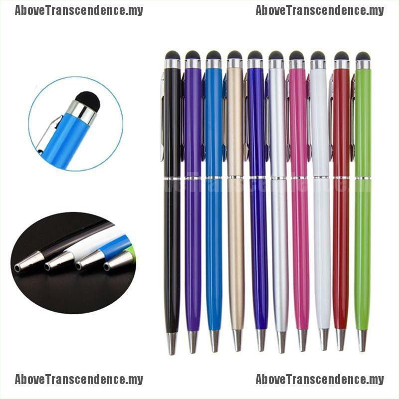 5//10X Metal Universal Stylus Screen Touch Pen For iPad iPhone Samsung Smartphone