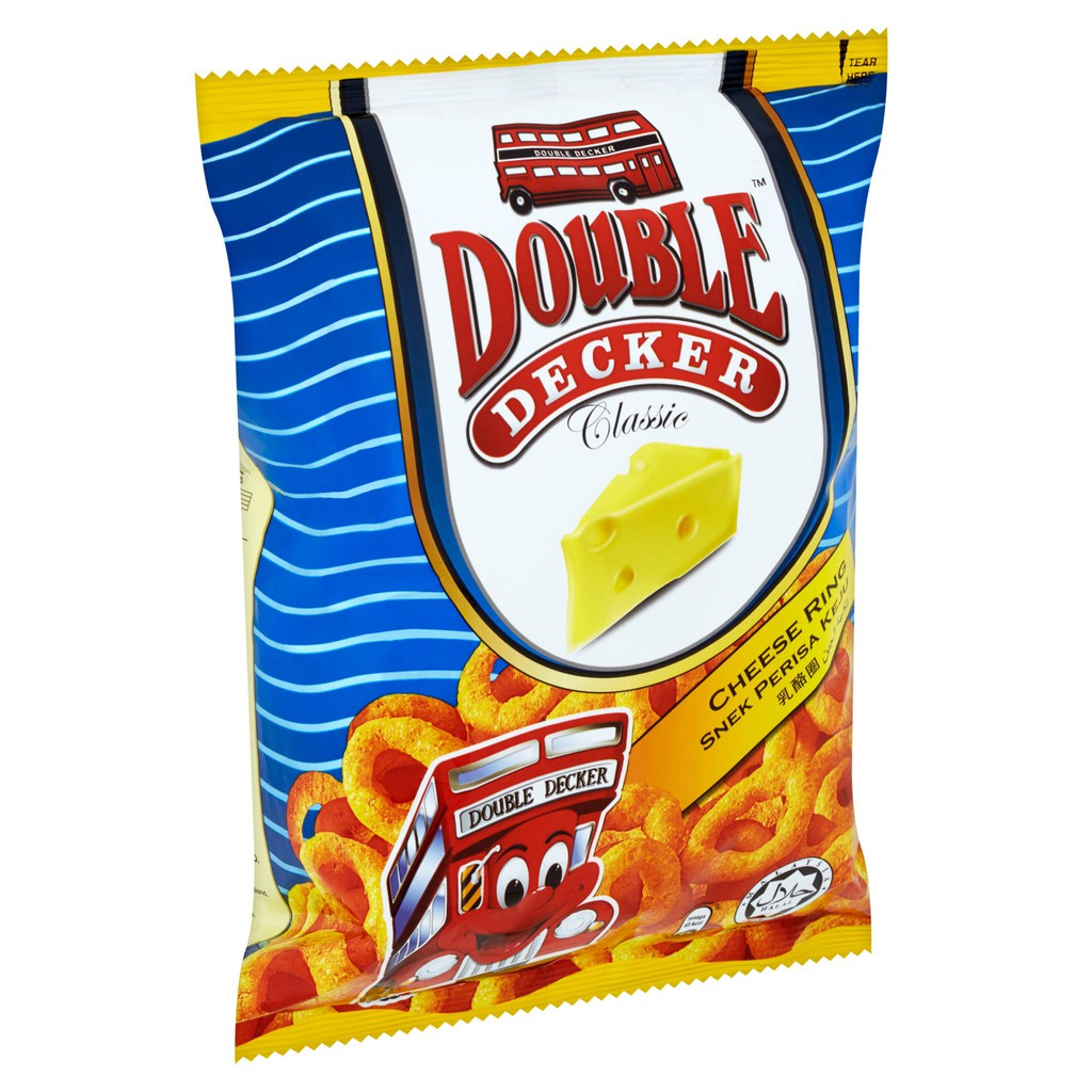 Double Decker Cheese Ring (60g)
