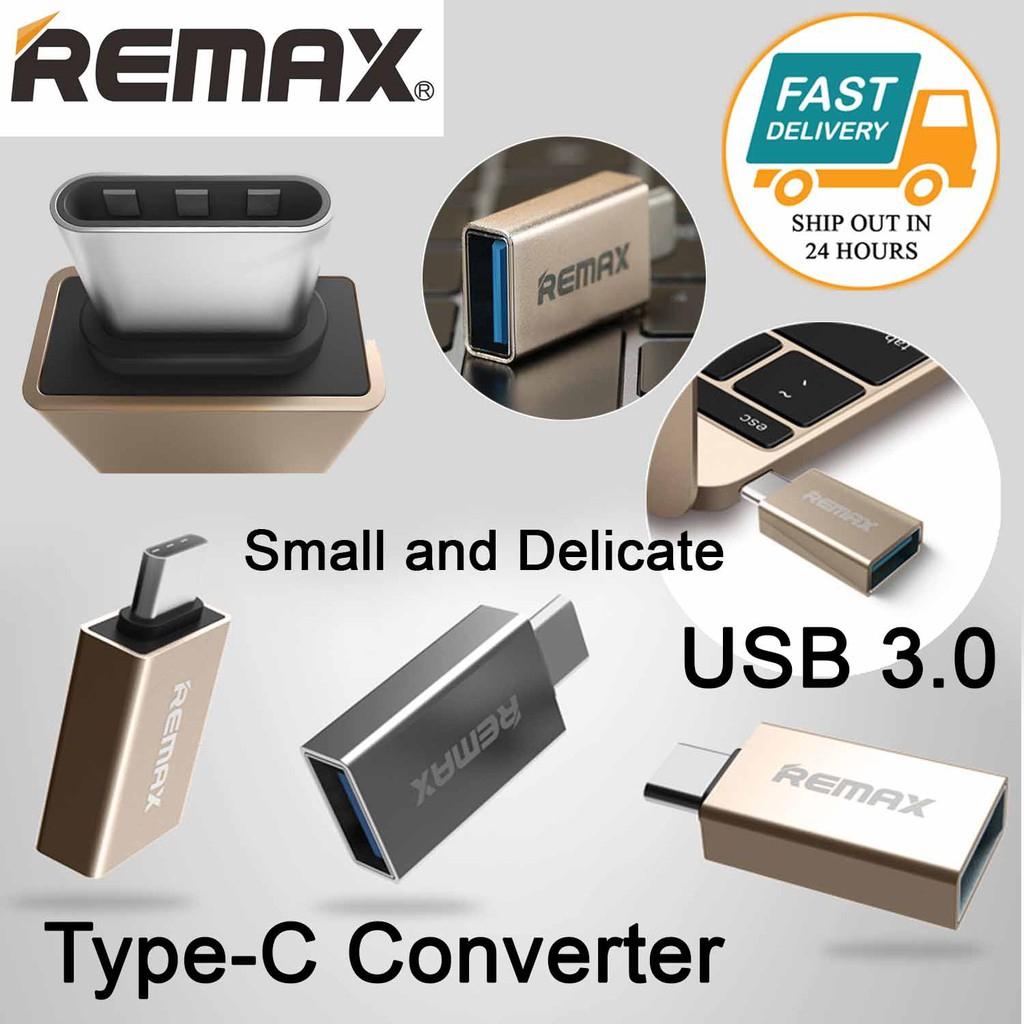 Remax Glance RA-OTG1 Type C To USB 3.0 Adapter OTG Converter