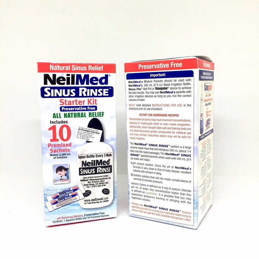 NEIL MED SINUS RINSE STARTER KIT