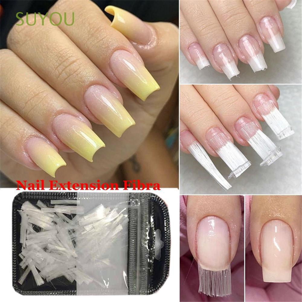 e97bd9400ca Makeup Tool Hot French Manicure Beauty Women Fashion Nail Extension Fibra