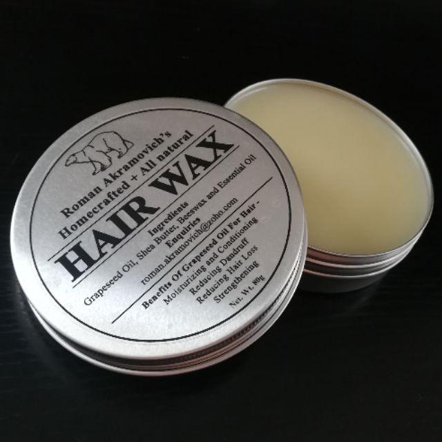 Homemade hair wax / hair pomade 80g