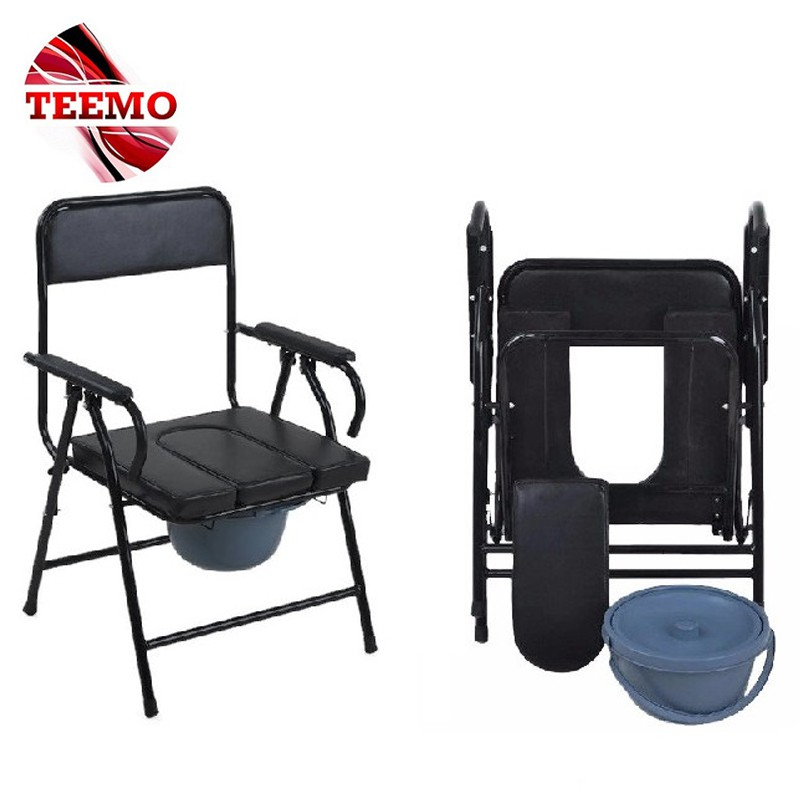 Remarkable Teemo Foldable Toilet Commode Toilet Chair Medical Toilet Chair With Bucket Bralicious Painted Fabric Chair Ideas Braliciousco