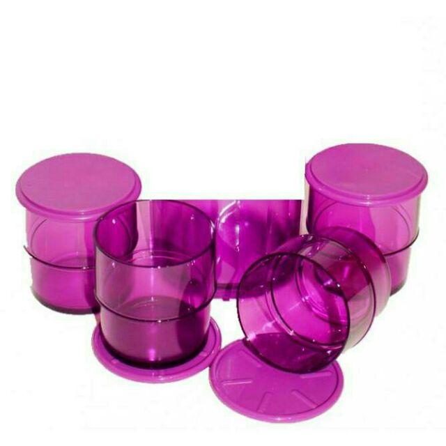 Tupperware Elegant Mug 4pcs purple