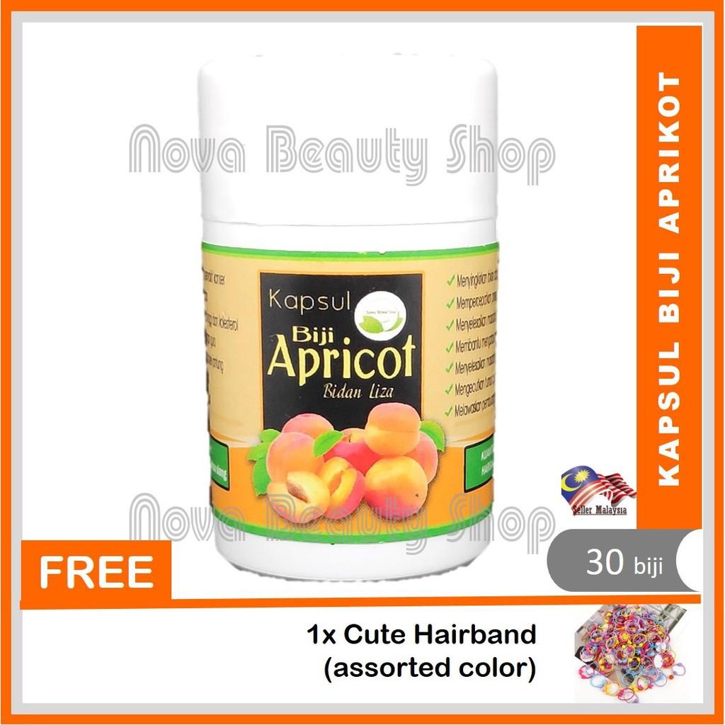 🥑 *Kapsul Biji Aprikot Apricot Seed Bidan Liza* 🥑 30 Biji