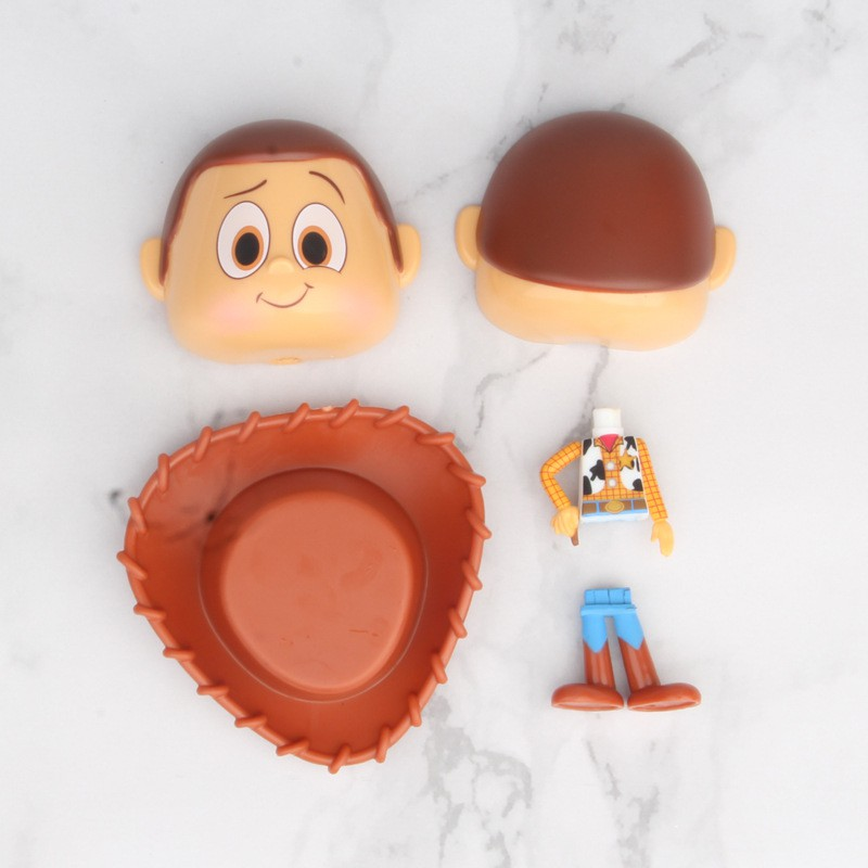 2Pcs Toys Story Buzz Woody Figure Egg Ball Collection
