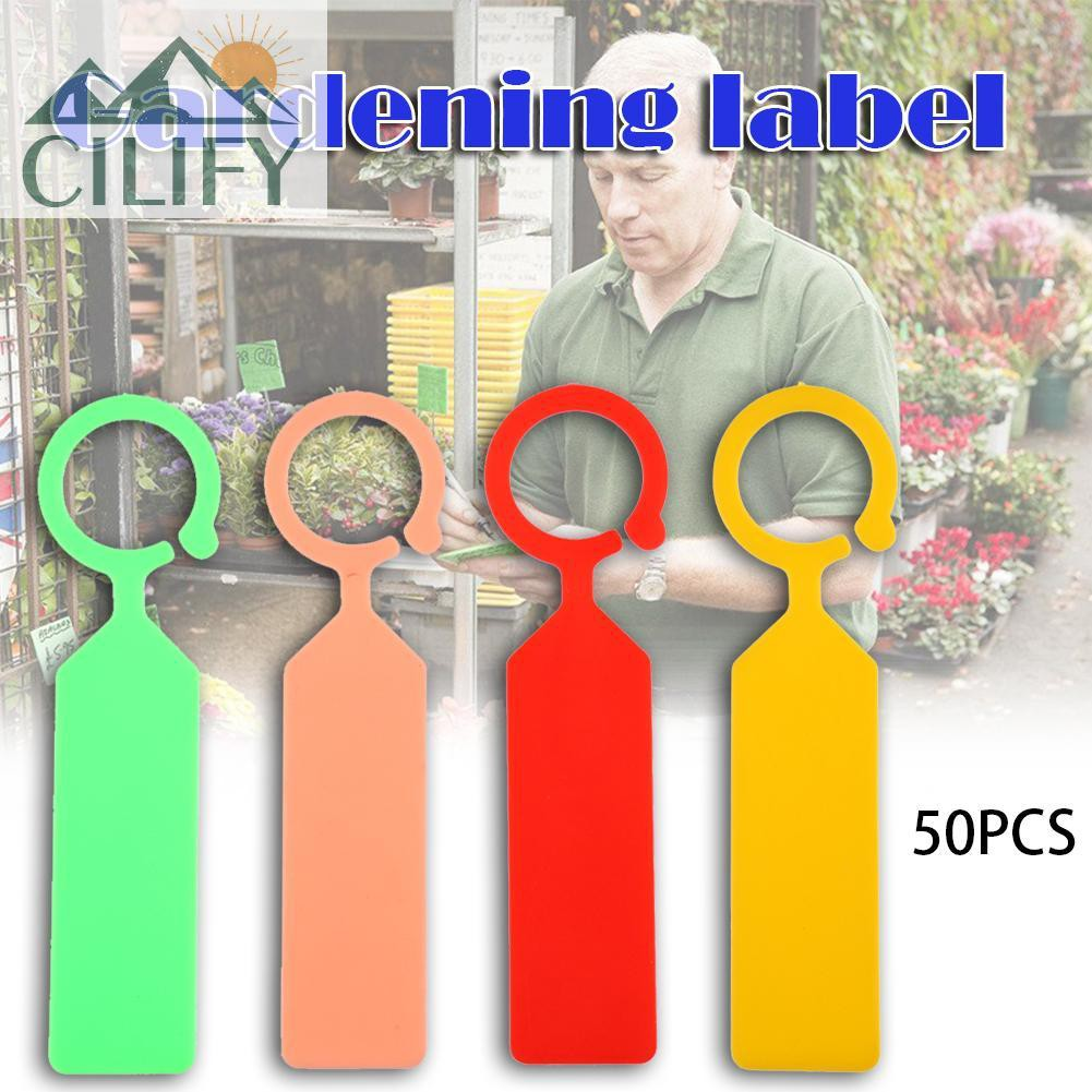 50pcs Plant Labels T-type Garden Tags Pots Lot Nursery Planters Decoration Tool