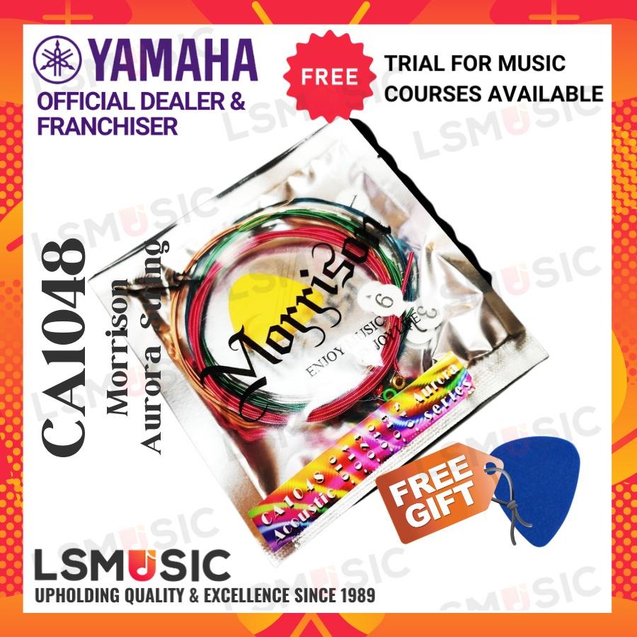Morrison Aurora Series Multi Color Acoustic Guitar Strings Set ( CA1048 ) Tali Gitar